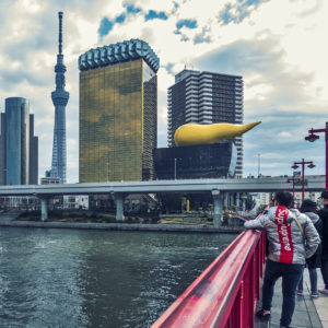 Asahi building - P.Starck