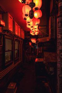 Kabukicho rossa di sera #2_Red Kabukicho at night #2